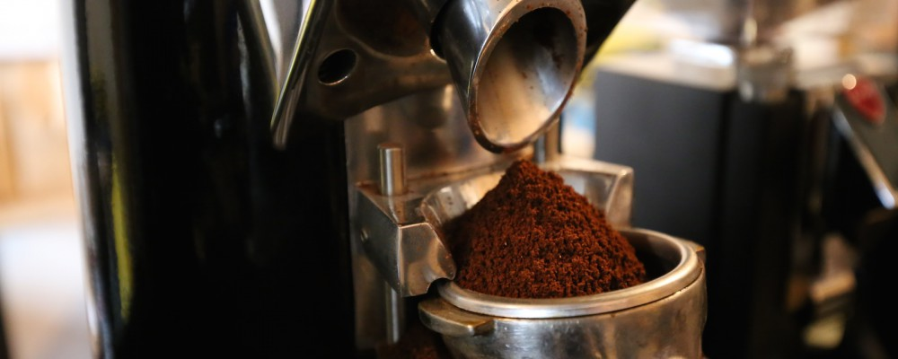 Grinder koffie gemalen - KoffieTenTje Breda
